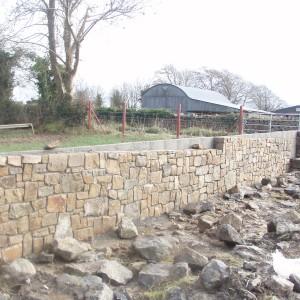 Ohradní zeď – Ballinasloe, Irsko
