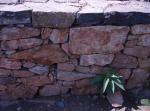Dry laid wall – Bohutice by Moravsky Krumlov