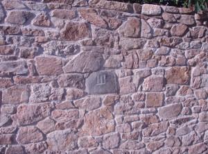 Stone wall – Bohutice by Moravsky Krumlov