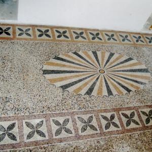 Mosaic – Boskovice, castle