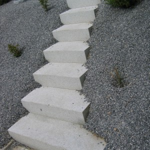 Stone stairs – Brno, Dillingerova