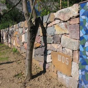 Suchá zeď – Brno, El. Voračické