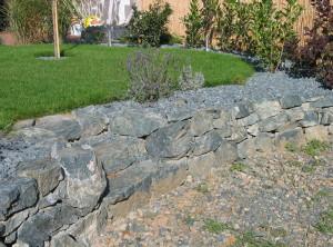 Zahradní zídka – Brno, Na Kopcích
