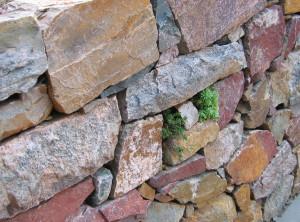 Dry laid wall – Brno, Svahova