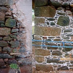 Oprava kamenného zdiva – Chlum uKarlových Var