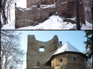 Reconstruction of castle – Cimburk by Korycany