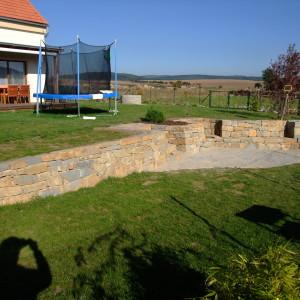 Zahradní zeď – Drásov uTišnova
