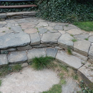 Paving with stairs – Hlasnice by Policka