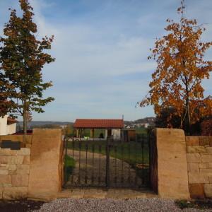 Stone entrance – Horice, Chvalina I