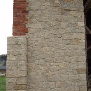 Nosné kamenné zdivo – Horní Hynčina uSvitav