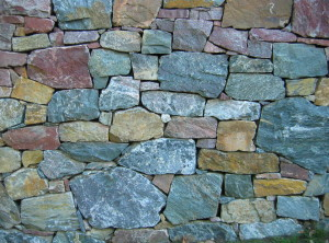 Dry laid wall – Husle by Tisnov