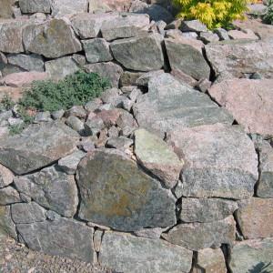 Dry laid wall – Jehnice by Brno