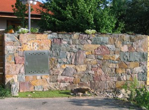 Stone fence – Lelekovice by Brno II