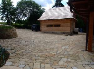 Granite paving – Lhotka by Zdar nad Sazavou