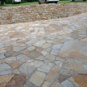 Paving and stonework from granit – Lhotka by Zdar nad Sazavou