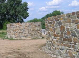 Masivní kamenné zdivo – Lysovice uVyškova