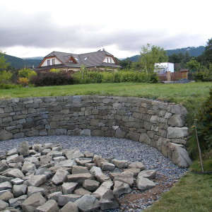 Dry laid wall – Malenovice by Frydlant nad Ostravici