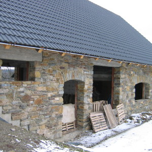 Stone house – Manova Lhota by Policka