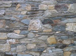Rustikální kamenné zdivo – Manova Lhota uPoličky