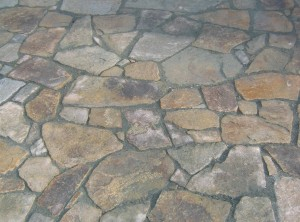 Kamenná venkovní dlažba – Měnín uBrna
