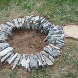 Kamenné ohniště – Nebovidy uBrna
