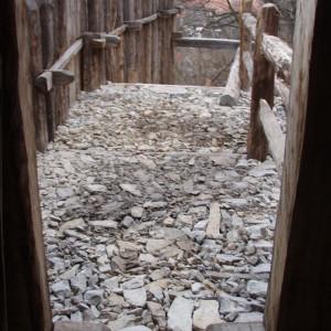 Štět, historické konstrukce zkamene – Netolice, archeopark