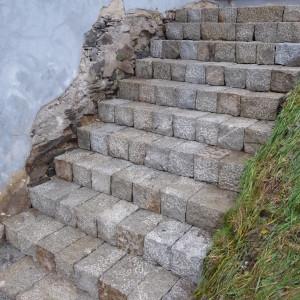 Vstupní schodiště – Šléglov uJeseníka