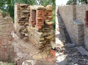 Oprava apřestavba kamenné zdi – Staré Město uMorvaské Třebové
