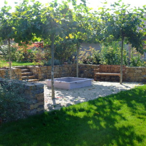Garden stonework – Valtice, Vinohrady