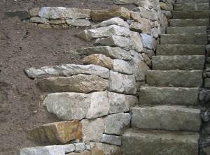 Kamenné schodiště – Vranov uBrna