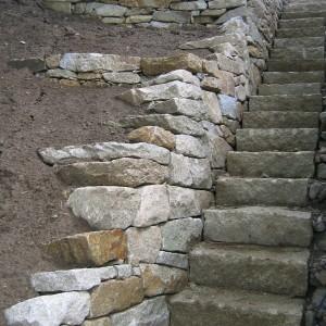 Stone stairs – Vranov by Brno